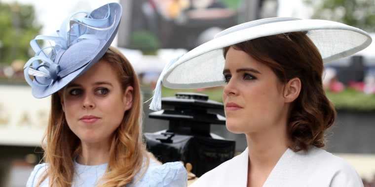 Beatrice and Eugenie royals
