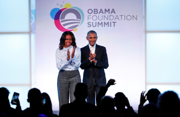 Still Trying to Be Relevant; Obamas endorse dozens of Democratic candidates