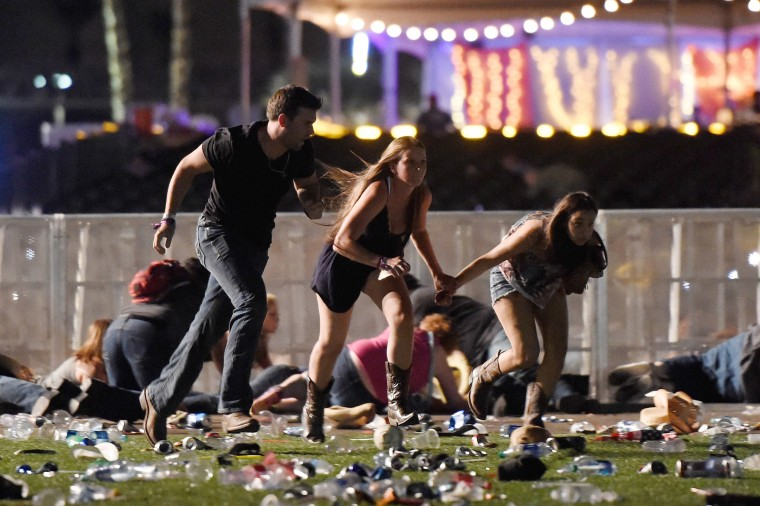 Image: Best of Year 2017: Reported Shooting At Mandalay Bay In Las Vegas