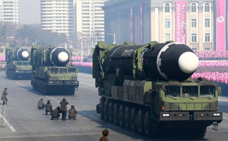 Image: Hwasong-15 ballistic missiles
