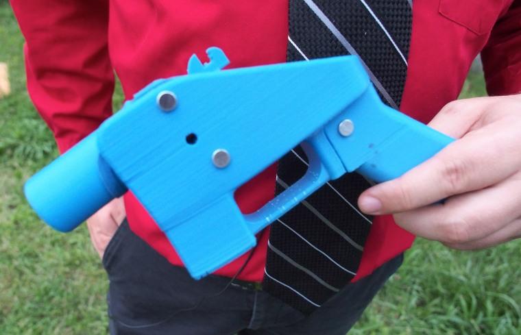 Image: 3D Printed Gun