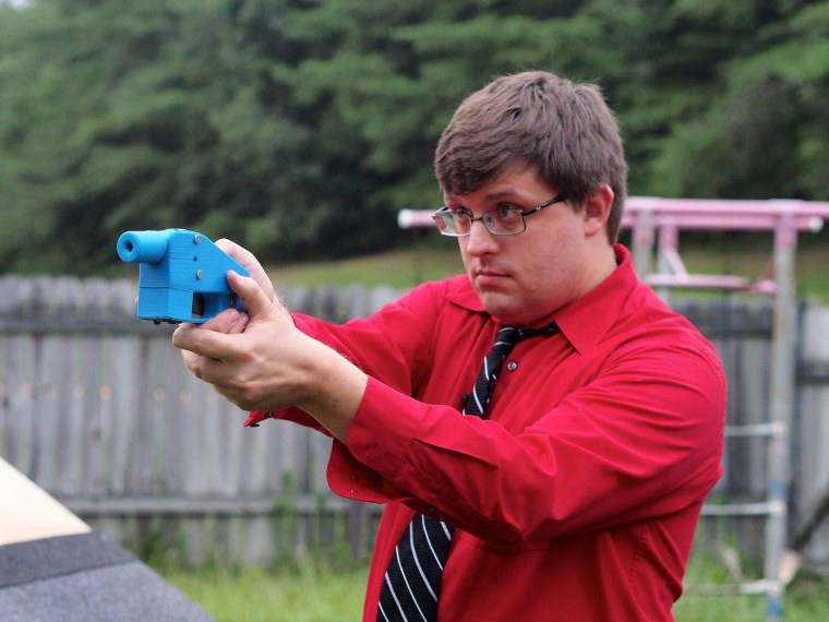 Gun rights coalition releases 3D-printed gun plans