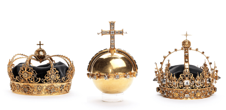 Image: Swedish crown jewels stolen from Strangnas Cathedral
