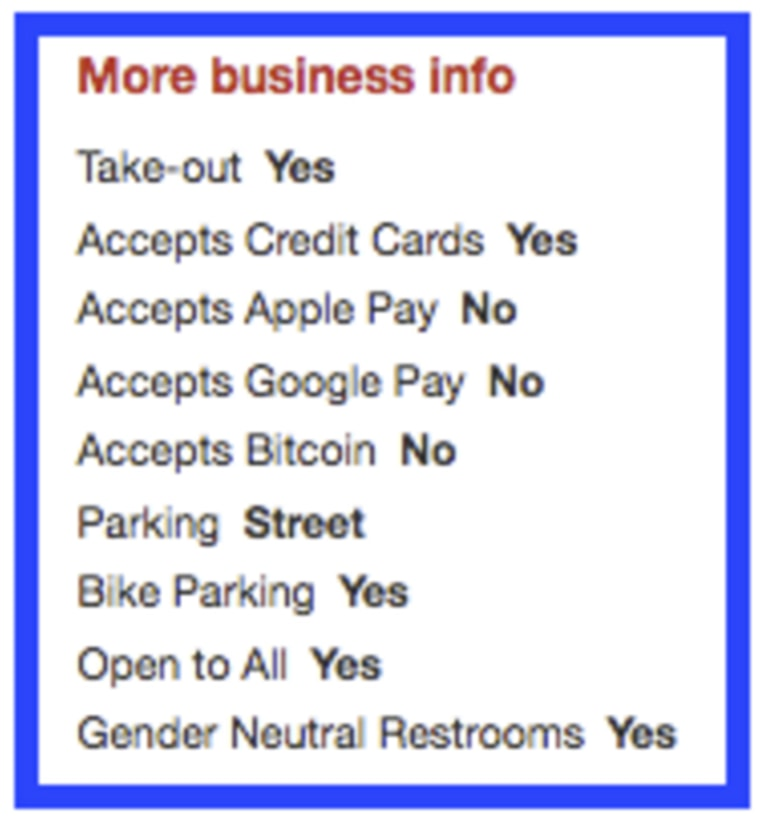 Image: Yelp Open To All listing