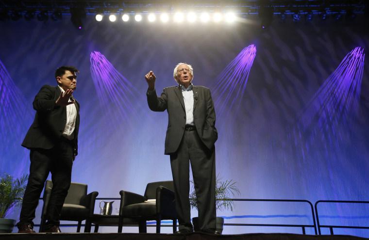 Bernie Sanders, Jose Vargas