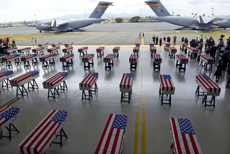 Image: TOPSHOT-US-NKOREA-REMAINS-DIPLOMACY