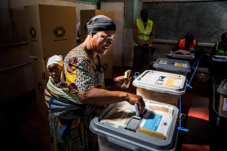 Image: TOPSHOT-ZIMBABWE-VOTE-ELECTIONS