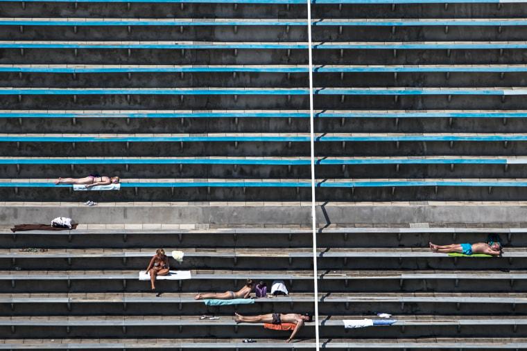 Image: Heat wave in Czech Republic