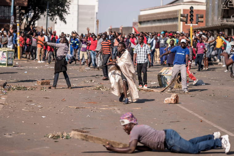 Image: ZIMBABWE-POLITICS-ELECTION-UNREST