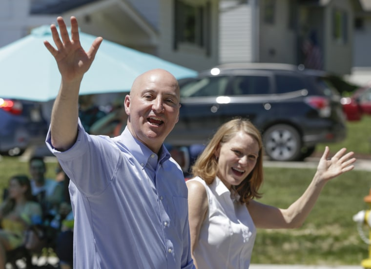 Susanne Shore,Pete Ricketts