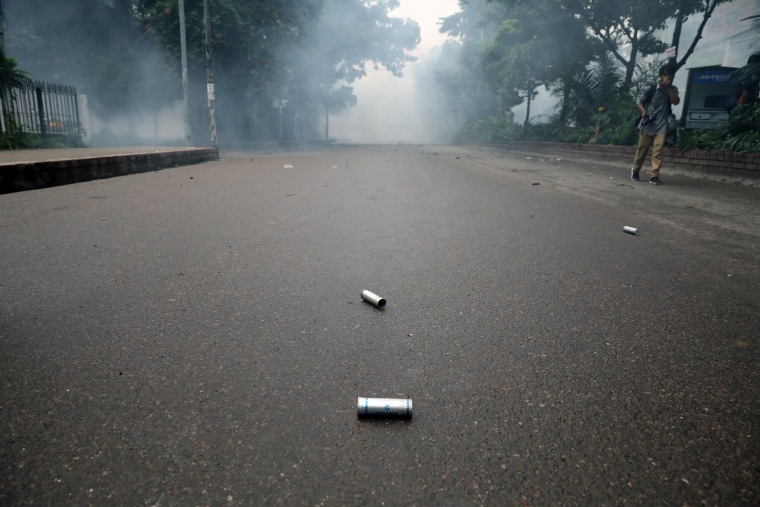 Image: Tear gas shells
