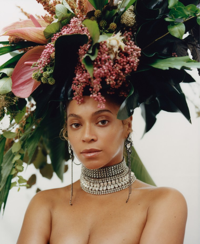 Beyonce photo shoot for Vogue
