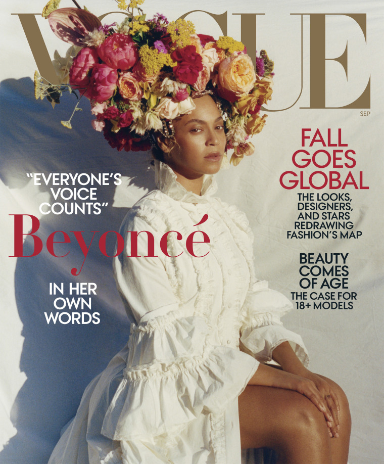 Beyonce in her own words for Vogue