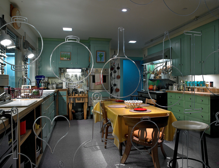 Photo of Julia Child's kitchen courtesy of the National Museum of American History.