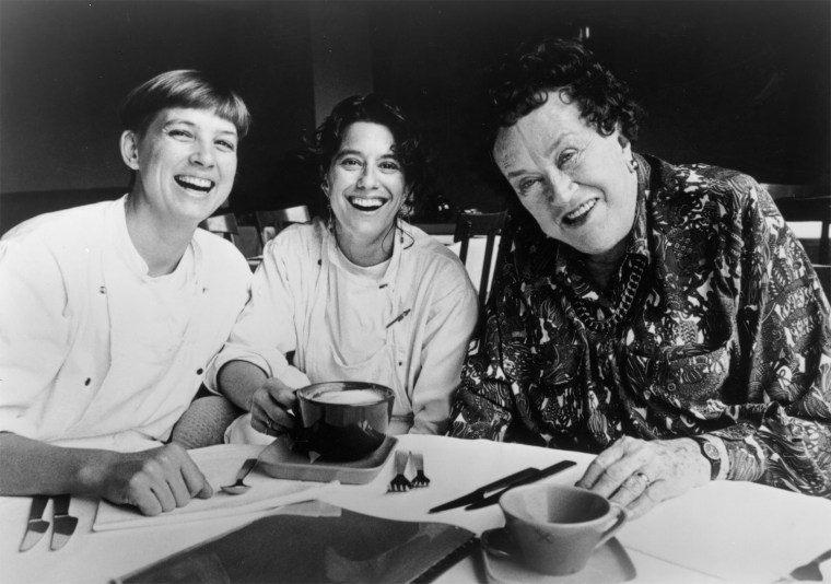 Photo of Mary Sue Miliken and Susan Feniger, via Smithsonian's National Museum of American History.
