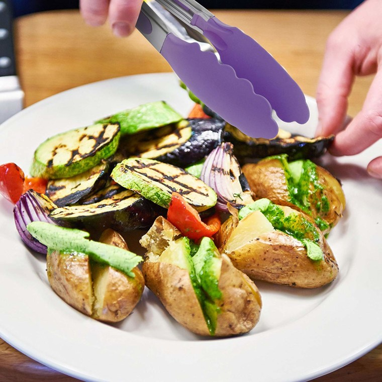 B M Kitchen Tongs: The Best Tongs Are ChefStir Kitchen Tongs With Non Stick