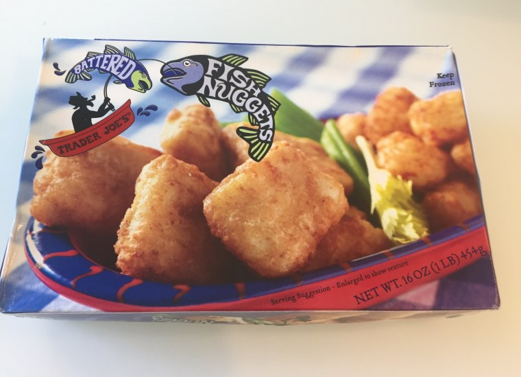 Use pre-made fish nuggets for an easy protein in tacos.