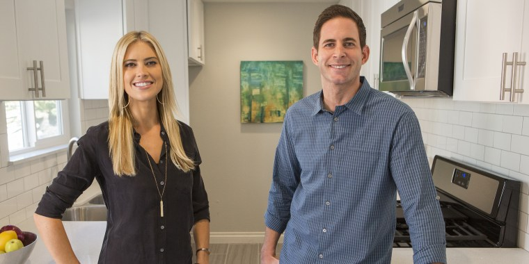 """Flip or Flop"" stars Christina and Tarek El Moussa"
