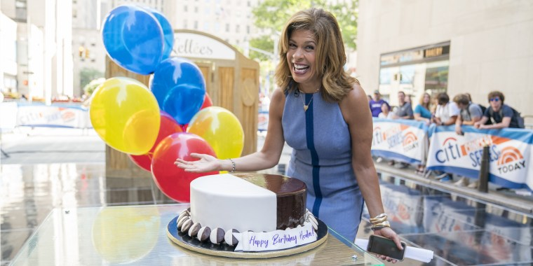 Hoda Kotb's birthday