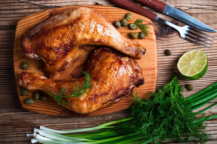 How to bake chicken: Baked chicken legs