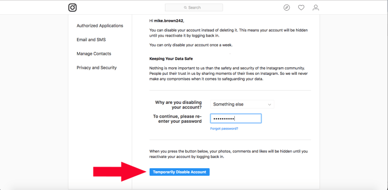 How to delete Instagram account and how to deactivate Instagram
