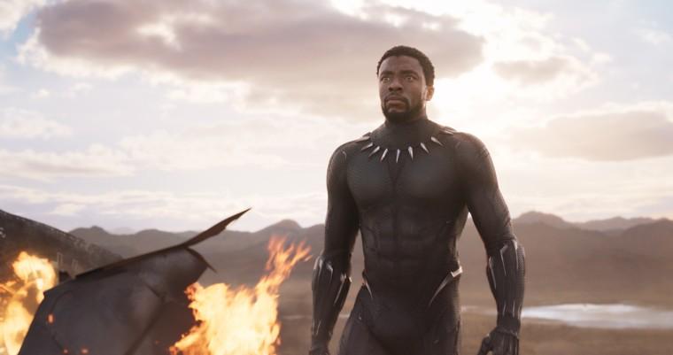 Image: Chadwick Boseman as T'Challa in Black Panther