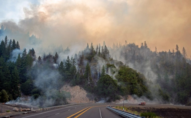 Image: TOPSHOT-US-WILDFIRES