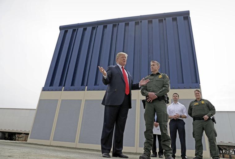 Image: Trump Border Wall