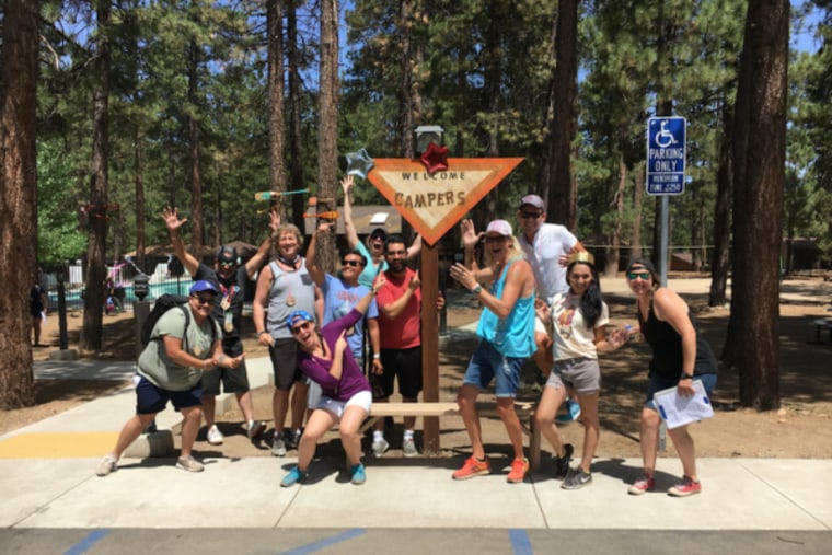 Camp Laurel, the first free summer camp for transgender/gender non-conforming youth run by The Laurel Foundation