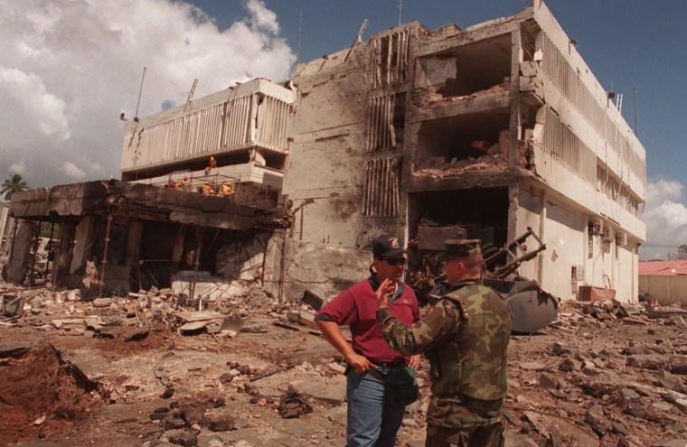 Image: Tanzania Embassy Bombing