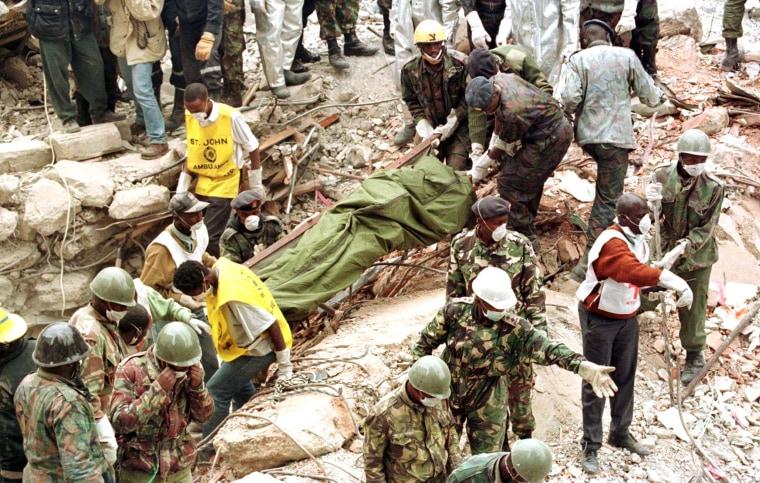Image: Kenya Embassy Bombing