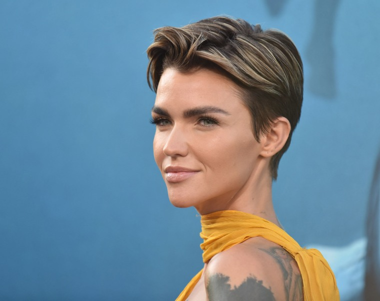 "Image: Ruby Rose attends the U.S. premiere of ""The Meg"" in Los Angeles"