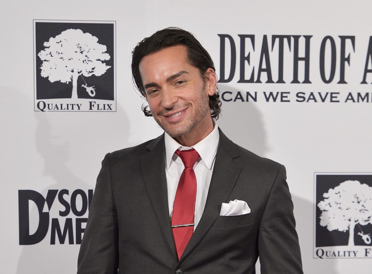 """Image: Brandon Straka attends the D.C. premiere of the film """"Death of a Nation"""""""
