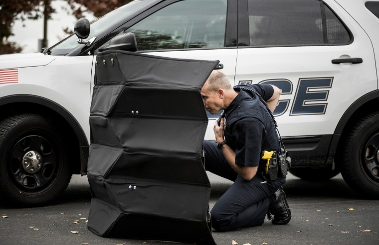 BYU engineering professors have created an origami-inspired, lightweight bulletproof shield that can protect law enforcement from gunfire.
