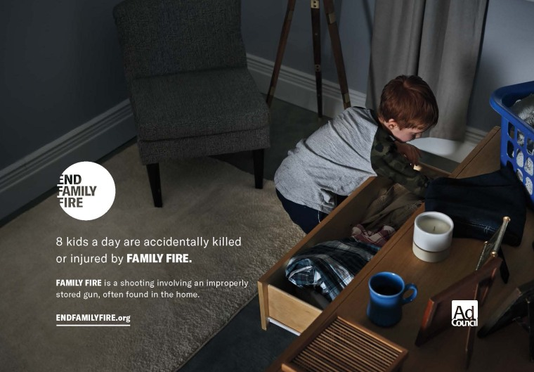 """New """"End Family Fire"""" Campaign Promotes Safer Gun Storage to Save Lives"""
