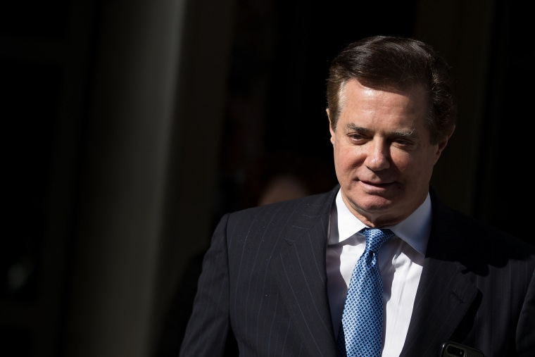 Image: Paul Manafort exits the E. Barrett Prettyman Federal Courthouse in Washington