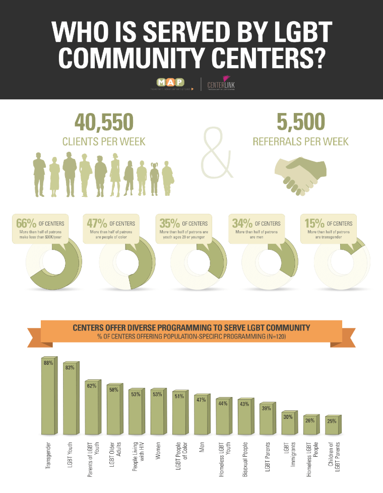 Image: LGBT Community Center Survey Report