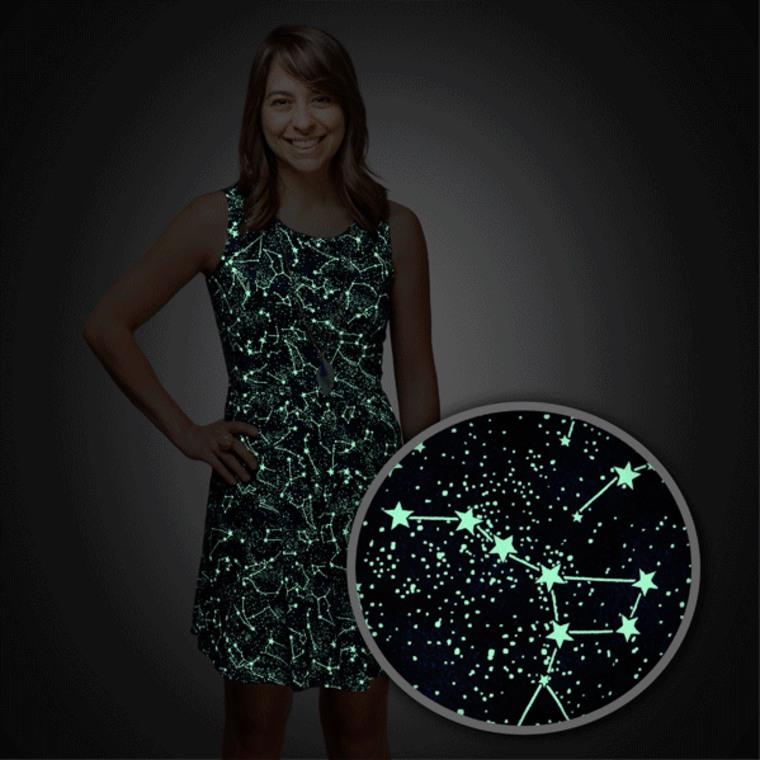 Glow-in-the-Dark Constellation Dress