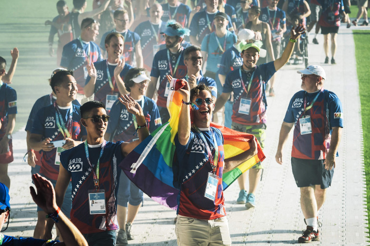 Image: SPORTS-FRA-GAY GAMES-2018