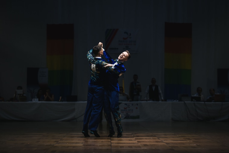 Image: SPORTS-FRA-GAY-GAMES-2018