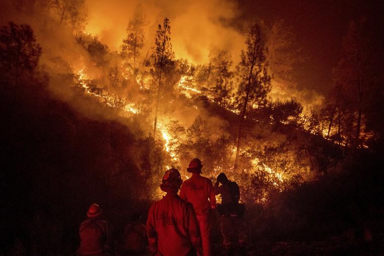 Image: Mendocino Complex Fire