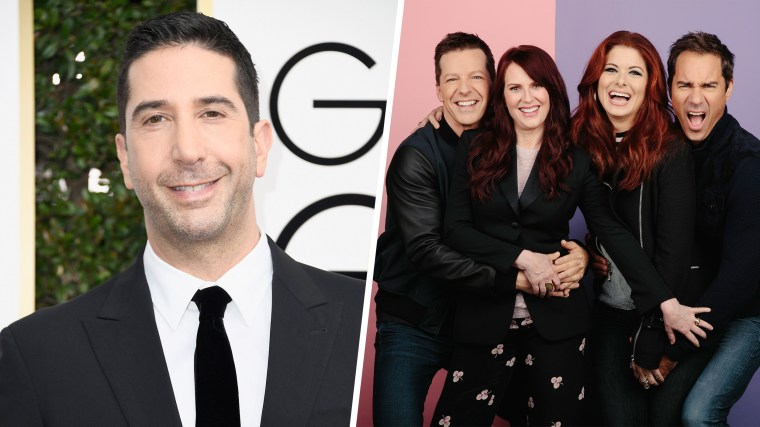 """Schwimmer is returning to NBC for a recurring role on """"Will and Grace."""""""