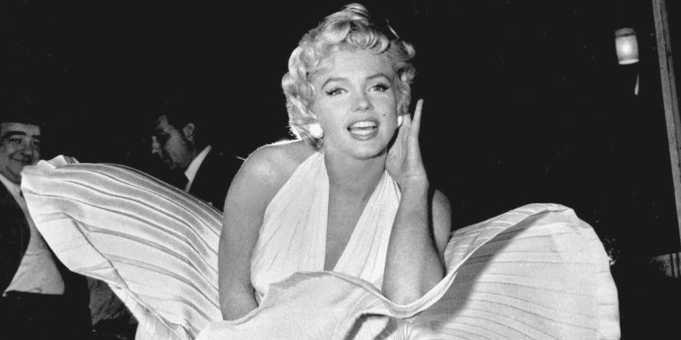 Marilyn Monroe white dress