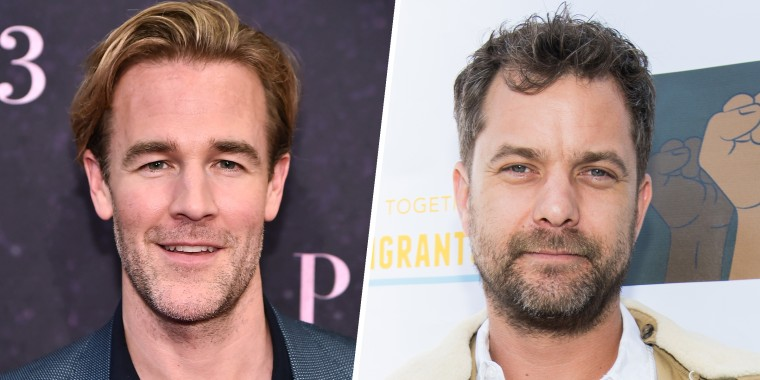 Joshua Jackson and James Van Der Beek