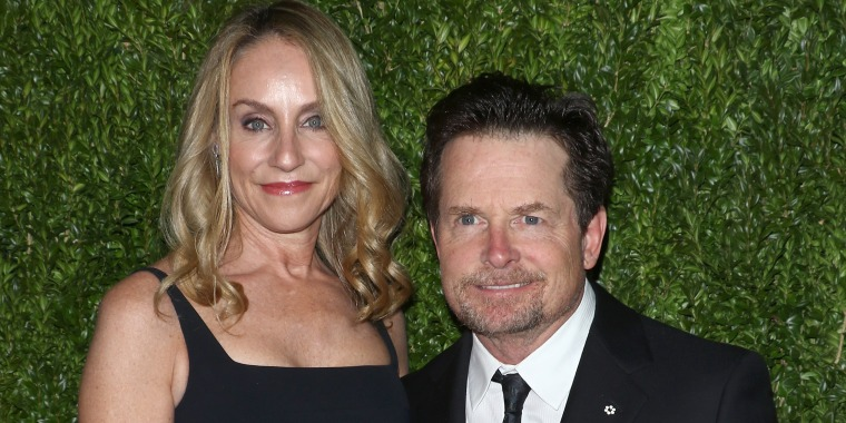 Michael J. Fox and Tracy Pollan talking about the success of their 30 year old marriage to People magazine