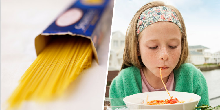 The 1 trick for breaking uncooked spaghetti perfectly in half