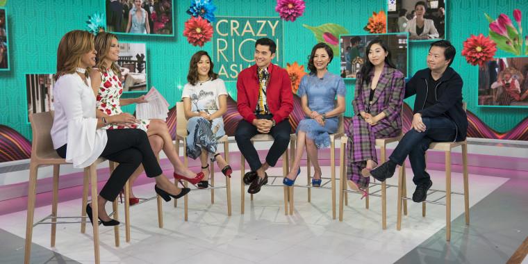 'Crazy Rich Asians' cast