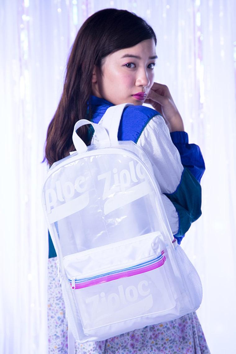 Ziploc backpack