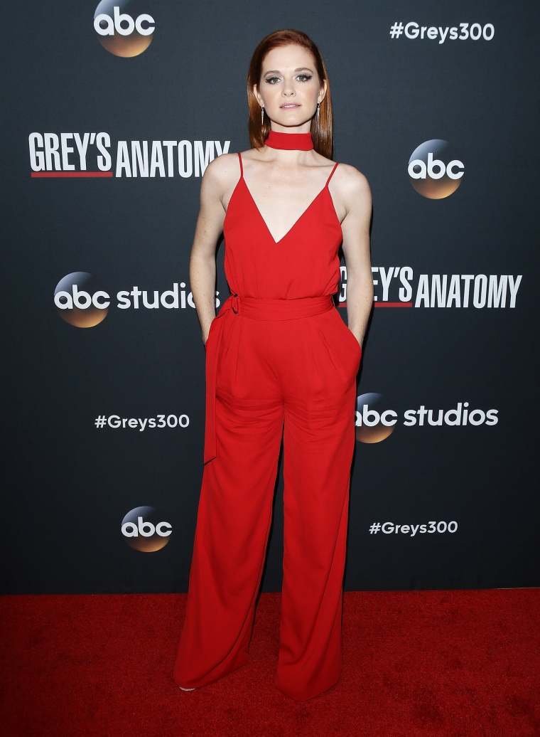 "Sarah Drew at 300th episode celebration for ABC's ""Grey's Anatomy"""