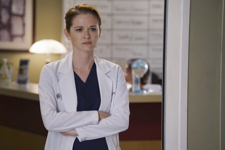 "Sarah Drew on ABC's ""Grey's Anatomy"""